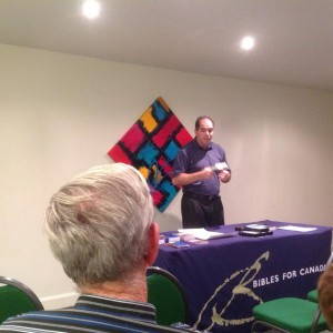 Bible seminar in hotel - Sainte-Anne-des-Monts - July 30th
